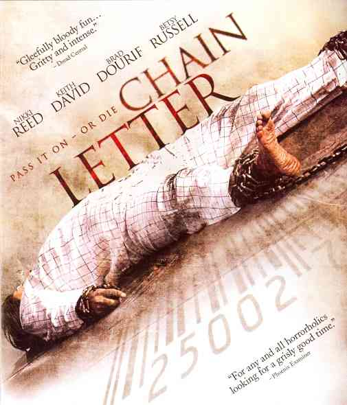CHAIN LETTER BY REED,NIKKI (Blu-Ray)